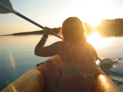 sunset paddle 2